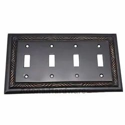 4 Toggle Rope Switch Plate