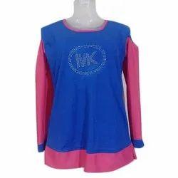 Xl Creta Fabric Casual Wear Full Sleeves Top
