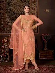 Lovely Net Embroidery Party Wear Salwar Kameez