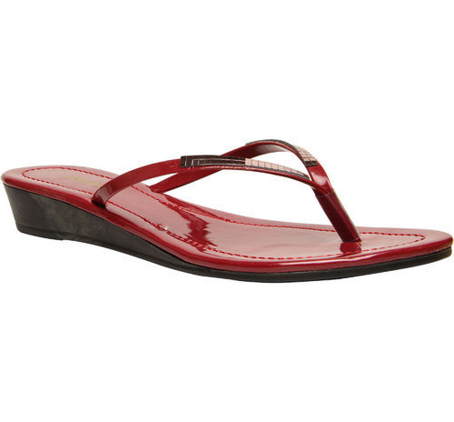 915b70dc2f1e Bata Red Chappals For Women