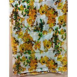 Flower Printed Chiffon Scarves