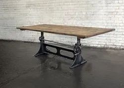 Crank Table Base Industrial Furniture