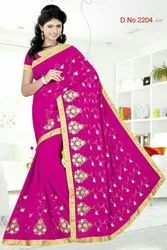 Embroidery Design Saree