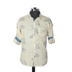 Gents Printed Designer Shirt