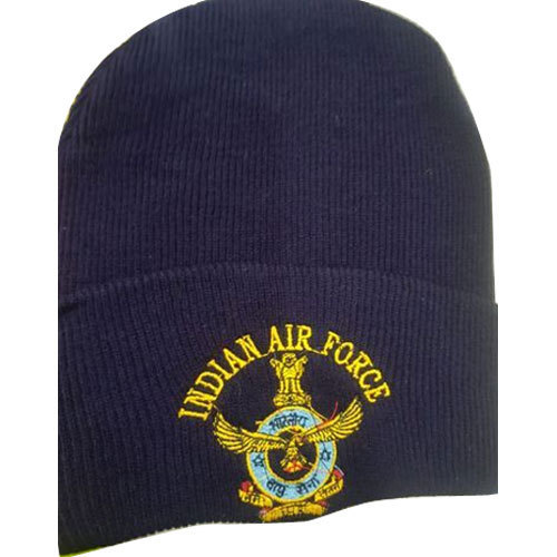 1a19f15838edf9 Sonu Oswal Indian Air Force Woolen Cap, Size: S And L, Rs 50 /piece ...
