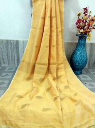 Handloom Cotton Silk Zari Work Sarees