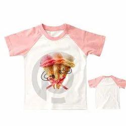 Premium Kids Raglan  Printed T Shirts
