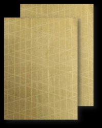 Reinforced Brown Synthetic Envelope