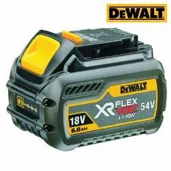 Dewalt DCB546 6 Ah Li-ion Flexvolt Battery for Power Tools, Voltage: 18 V / 54 V