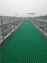 Fibre Glass Roof Walkway