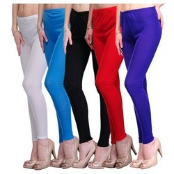 Straight Fit Casual Wear Ladies Leggings, Size: M, L, XL and XXL