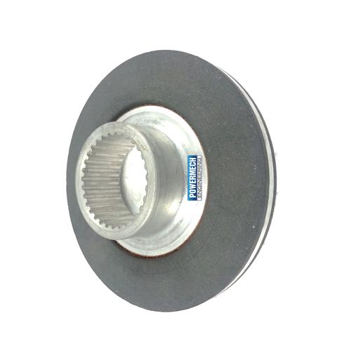 Brake Disc for Emco SIMPLATROLL Type 14 458 - Powermech