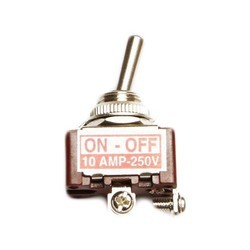 10 Amp Screw Type Toggle Switch