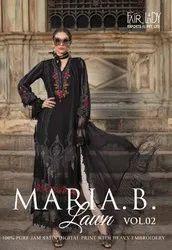 Fairlady Maria B Lawn Vol-2 Pakistani Lawn Suits Catalog Colletion