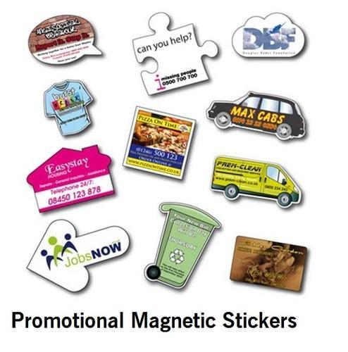 Promotional fridge magnets printed magnetic stickers