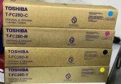Toshiba tfc28d toner cartridge cymk