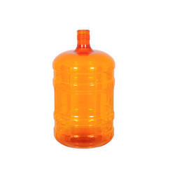 Yogi Plast 20 Liter Orange Mineral Water Jar, Capacity: 10 Litre