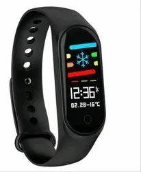 Black Rubber Smart Watch, for Daily, Model Name/Number: M3s