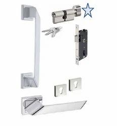 D95143 Nevada L/r Entrance Door Handle Set