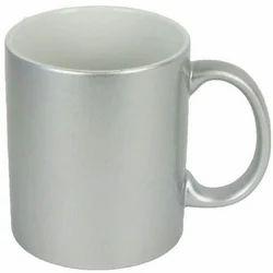 Silver Color Mug