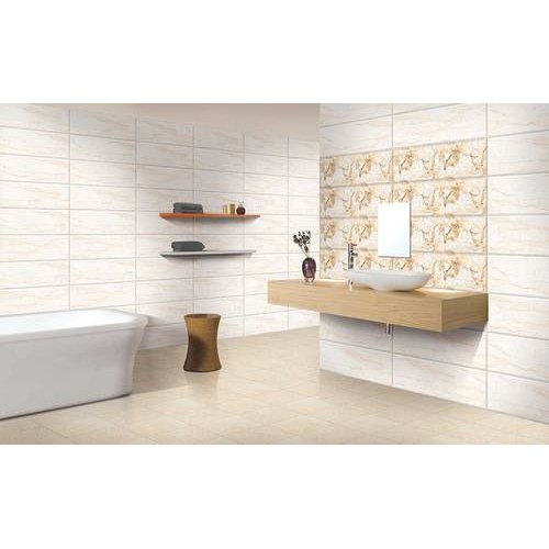 Kajaria Bathroom Tile Thickness 5 10 Mm Size In Cm