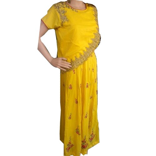 Party Wear Printed Ladies Designer Long Dress