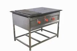 SS Compact Chapati Puffer Table, Model Name/Number: CPT