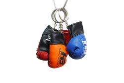 HB硬体拳击手套风格键入/钥匙串