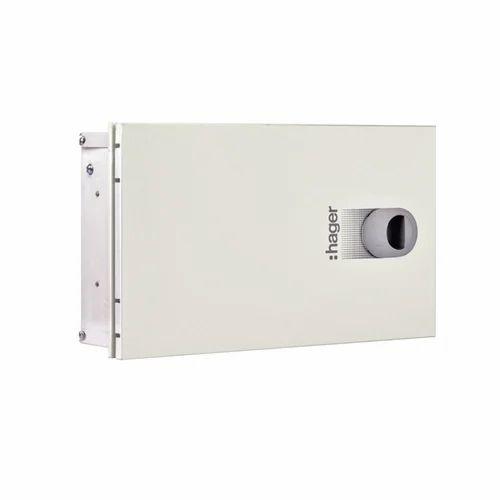 Hager Vys04p Spn 4way Ip54 Double Door Db Enclosure
