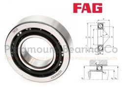 7212-B-TVP FAG Angular Contact Ball Bearing
