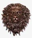 Lion Face Fiber Wall Mural