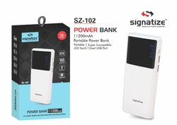 Travel SIGNATIZE 102:- 11200MAH POWER BANK, for Mobile Charging