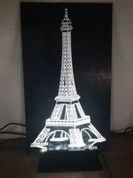 ACRYLIC 3D LED EIFFEL TOWER
