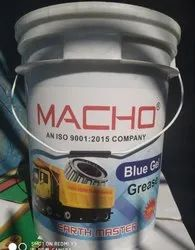 BLUE GEL MACHO GREASE ..EARTH MASTER, For Industrial