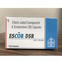 Enteric Coated Esomeprazole and Domperidone (SR) Capsules
