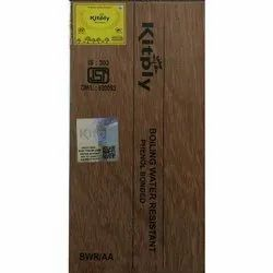 Brown Kitply Bwr Plywood, for Furniture, Thickness: 4mm-19mm