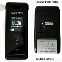 AlcoPatrol Breath Alcohol Analyzer with Printer