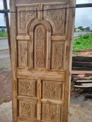Entrance Wooden Door