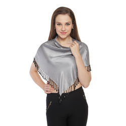 Digital Printed Satin Triangle Scarves