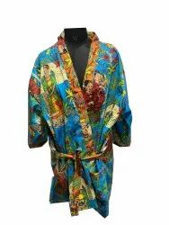 Farida Design Cotton Stylish Bathrobe