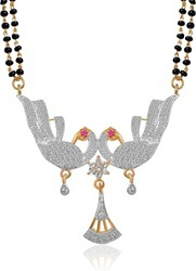 Mangalsutra Pendant Necklace With Chain