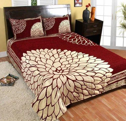 Beautiful Shaneel Double Bed Sheet Dream Zone Shop Delhi Id