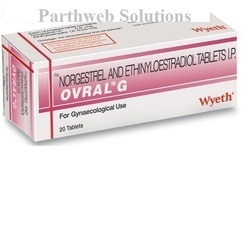 Ovral G 0.5mg/0.05mg Tablets