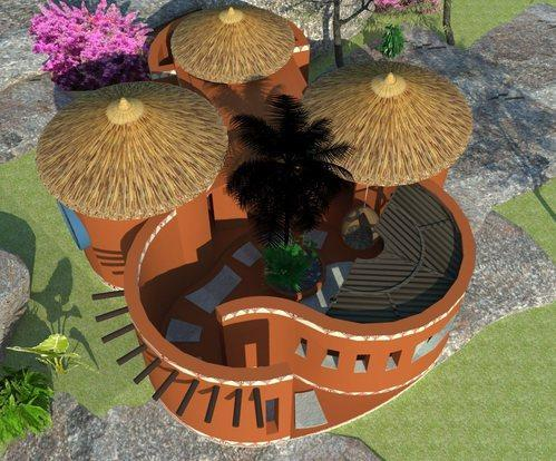 Mud Home Construction in Pondicherry, Sulthanpet by Thatched