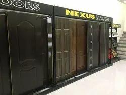 Nexus Brown Laminate Door, For Home