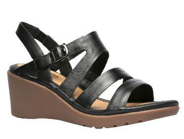 cc8437370c7e Bata Puppies Black Wedge Sandals For Women F664614200