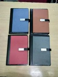Office Leather Diary