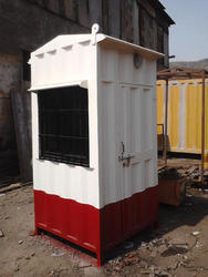 Security Guard Cabins for Construction Sites