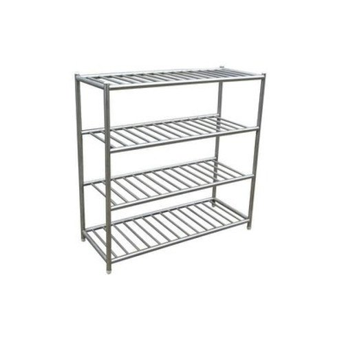 Silver Stainless Steel Rack, for Warehouse