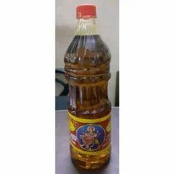 Yellow Kachchi Ghani 1 Litre Mustard Oil, Packaging Type: Plastic Bottle